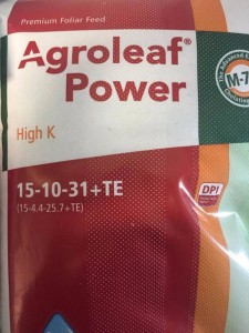 AGROLEAF POWER HIGH K 2KG